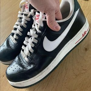 Nike Air Force 1 Low 07 Men's Basketball Shoes Blk